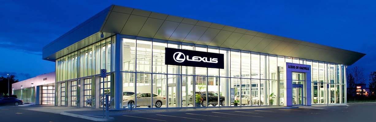External nighit view of dealership