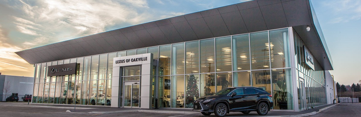 External day view of Lexus of Oakville Dealership