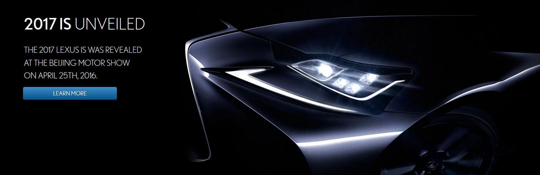 Unveiled new 2017 Lexus at Beijing Motorshow