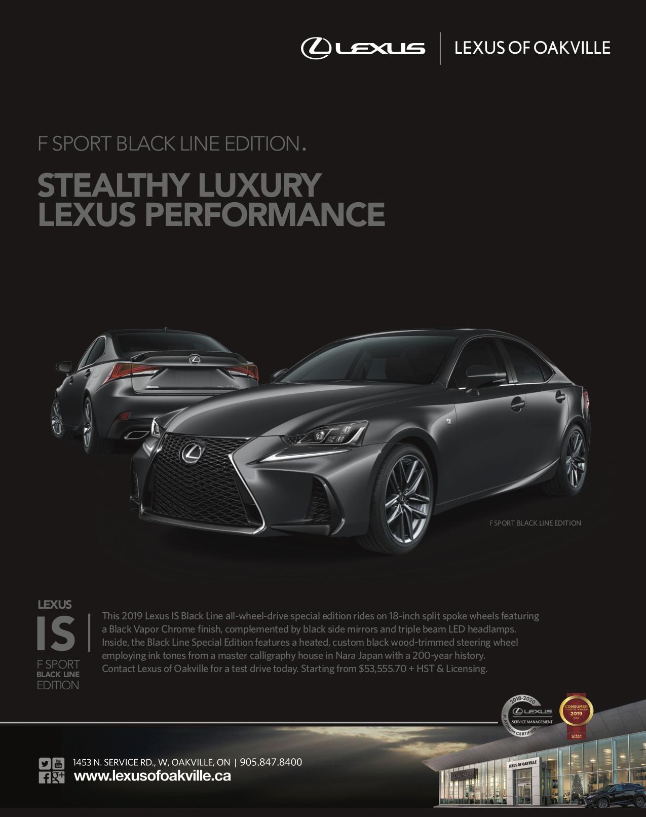 LEXUS IS BLACKOUT EDITION