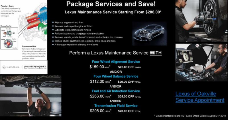package service and save