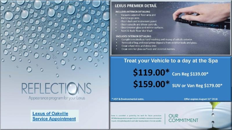 Reflections - Appearance Program For Your Lexus