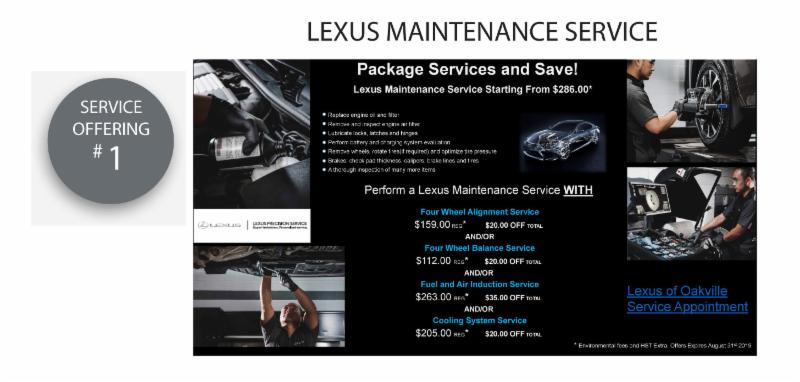 Lexus Maintenance Service